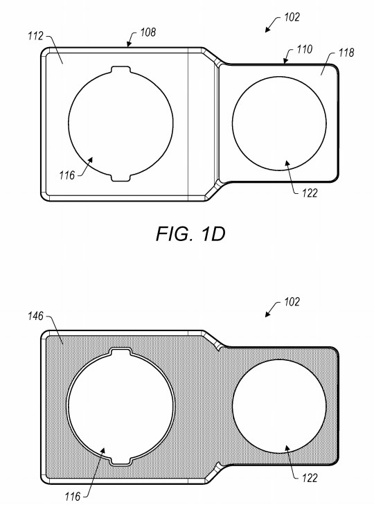 apple camera chassis patent