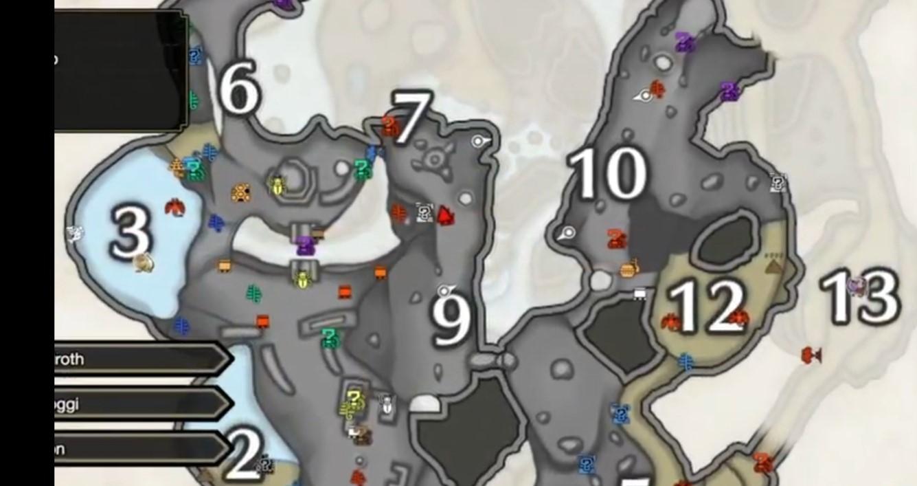 ore locations monster hunter rise