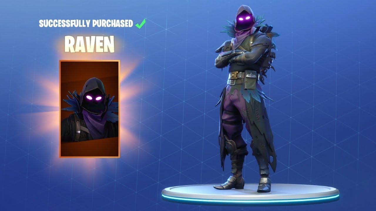 raven skin season 6