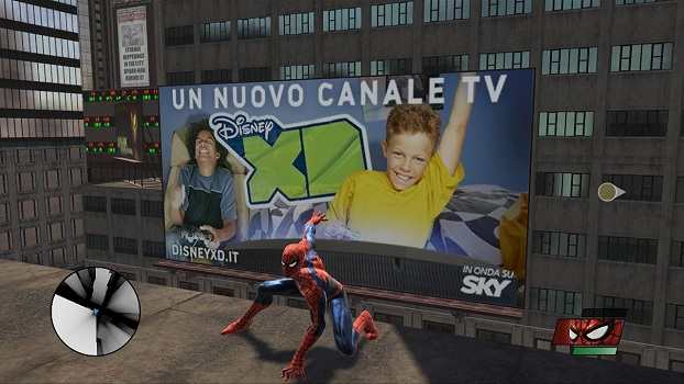 sony in game ads